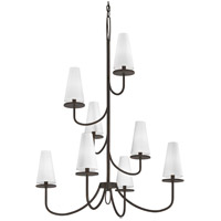 Troy Lighting F6298 Marcel 8 Light 36 inch Pompeii Bronze Chandelier Ceiling Light