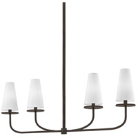 Marcel 4 Light 43 inch Pompeii Bronze Linear Pendant Ceiling Light