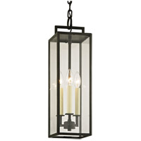 Troy Lighting F6387 Beckham 3 Light 6 inch Forged Iron Pendant Ceiling Light