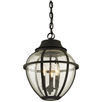 Troy Lighting F6457 Bunker Hill 3 Light 13 inch Vintage Bronze Outdoor Pendant