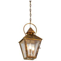 Troy Lighting F6587HBZ Allston 3 Light 10 inch Historic Brass Outdoor Pendant photo thumbnail