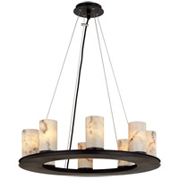 Troy Lighting F6606 Catalonia 8 Light 25 inch Textured Black Pendant Ceiling Light