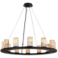 Troy Lighting F6607 Catalonia 12 Light 35 inch Textured Black Pendant Ceiling Light