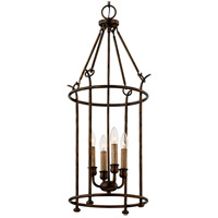 Troy Lighting F6644 Paso Robles 4 Light 15 inch Pompeii Bronze Pendant Ceiling Light