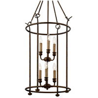 Troy Lighting F6646 Paso Robles 6 Light 20 inch Pompeii Bronze Pendant Ceiling Light