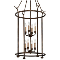 Troy Lighting F6648 Paso Robles 8 Light 25 inch Pompeii Bronze Pendant Ceiling Light