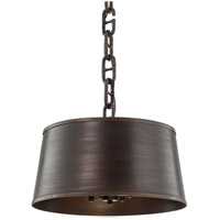 Troy Lighting F6684 Admirals Row 4 Light 20 inch Pompeii Bronze Pendant Ceiling Light