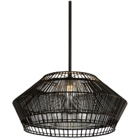 Troy Lighting F6724 Hunters Point 1 Light 28 inch Dark Espresso Pendant Ceiling Light