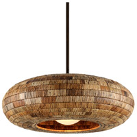 Troy Lighting F6735 Breuer 1 Light 40 inch Bronze Pendant Ceiling Light