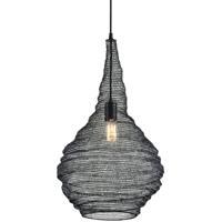Troy Lighting F6771 Wabi Sabi 1 Light 16 inch Black Pendant Ceiling Light