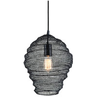 Troy Lighting F6773 Wabi Sabi 1 Light 13 inch Black Pendant Ceiling Light