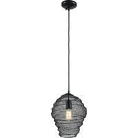 Troy Lighting F6773 Wabi Sabi 1 Light 13 inch Black Pendant Ceiling Light