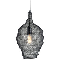 Troy Lighting F6775 Wabi Sabi 1 Light 12 inch Black Pendant Ceiling Light