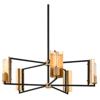 Troy Lighting F6785 Emerson 5 Light 32 inch Carbide Black Chandelier Ceiling Light