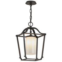 Troy Lighting F6857 Princeton 1 Light 13 inch French Iron Pendant Ceiling Light