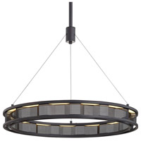 Troy Lighting F6863 Fuze LED 29 inch Modern Bronze Pendant Ceiling Light
