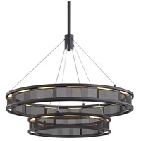 Troy Lighting F6864 Fuze LED 29 inch Modern Bronze Pendant Ceiling Light