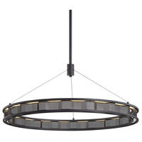 Troy Lighting F6865 Fuze LED 39 inch Modern Bronze Pendant Ceiling Light