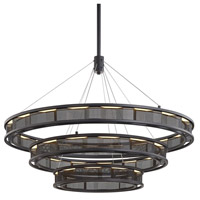 Troy Lighting F6866 Fuze LED 39 inch Modern Bronze Pendant Ceiling Light