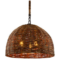 Troy Lighting F6903 Huxley LED 24 inch Tidepool Bronze Pendant Ceiling Light