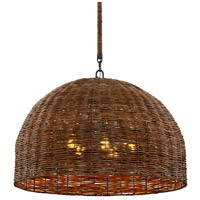 Troy Lighting F6905 Huxley LED 34 inch Tidepool Bronze Pendant Ceiling Light photo thumbnail