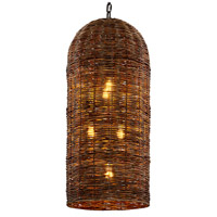 Troy Lighting F6907 Huxley LED 18 inch Tidepool Bronze Pendant Ceiling Light