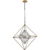 Troy Lighting F7145 Epic 4 Light 18 inch Gold Leaf Pendant Ceiling Light