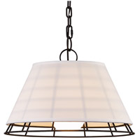 Troy Lighting F7194 Xander 9 Light 18 inch Centennial Bronze Pendant Ceiling Light