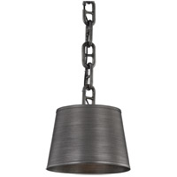 Troy Lighting F7203 Admirals Row 12 inch Antique Pewter Pendant Ceiling Light