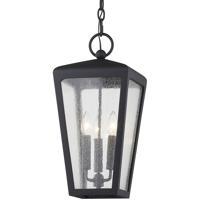 Troy Lighting F7607 Mariden 3 Light 9 inch Textured Black Hanger Ceiling Light