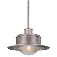 South Street 1 Light 17 inch Old Galvanize Outdoor Hanging Downlight in Old Galvanized
