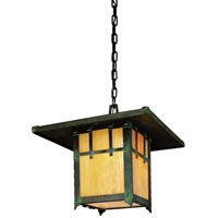 Troy Lighting Oak Knoll 1 Light Outdoor Hanging Lantern in Natural Bronze F9409NB