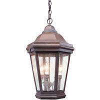 Troy Lighting FCD6895BZ Verona 3 Light 16 inch Bronze Outdoor Pendant