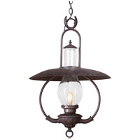 Troy Lighting La Grange 1 Light Outdoor Hanging Lantern in Old Bronze FCD9014OBZ