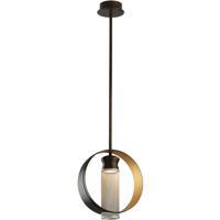 Troy Lighting FL4897 Insight LED 16 inch Modern Bronze Pendant Ceiling Light