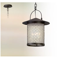 Altamont LED 12 inch French Iron Hanging Lantern Ceiling Light