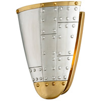 Troy Lighting B4701 Fly Boy 1 Light 9 inch Antique Silver with Aged Brass Wall Sconce Wall Light