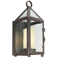 Hidden Hills 1 Light 14 inch Centennial Rust Outdoor Wall Sconce