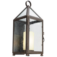 Troy Lighting B4472 Hidden Hills 1 Light 21 inch Centennial Rust Outdoor Wall Sconce