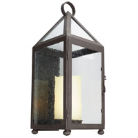 Troy Lighting Hidden Hills 1 Light Outdoor Wall Sconce in Centennial Rust B4473