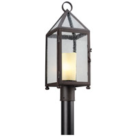 Troy Lighting Hidden Hills 1 Light Post Lantern in Centennial Rust P4475
