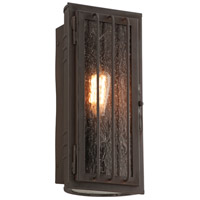 Troy Lighting B4681CB Joplin 1 Light 13 inch Bronze Outdoor Wall Sconce in Incandescent