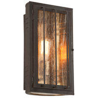 Joplin 1 Light 14 inch Bronze Outdoor Wall Sconce in Incandescent