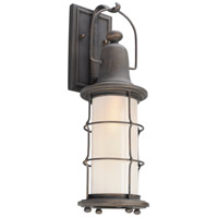 Troy Lighting B4441 Maritime 1 Light 20 inch Vintage Bronze Outdoor Wall Sconce in Incandescent