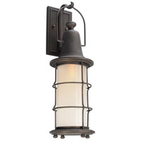 Troy Lighting B4442 Maritime 1 Light 23 inch Vintage Bronze Outdoor Wall Sconce in Incandescent