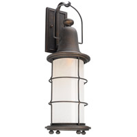 Troy Lighting B4443 Maritime 1 Light 26 inch Vintage Bronze Outdoor Wall Sconce in Incandescent