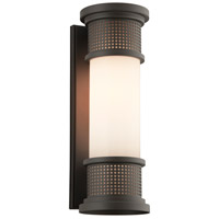 Troy Lighting B4673 Mcqueen 1 Light 19 inch Bronze Outdoor Wall Sconce in Incandescent