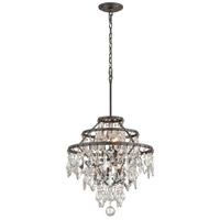 Troy Lighting F4316 Meritage 6 Light 20 inch Graphite Pendant Ceiling Light