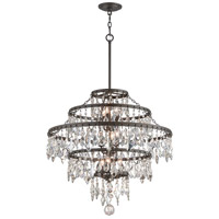 Troy Lighting F4319 Meritage 9 Light 30 inch Graphite Pendant Ceiling Light
