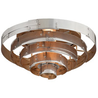 Troy Lighting C4720 Mitchel Field LED 18 inch Parisian Silver Flush Mount Ceiling Light
